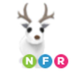 Neon Arctic Reindeer NFR Adopt Me