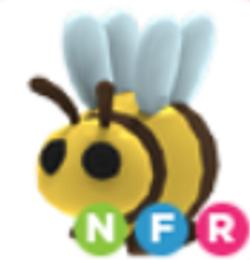 Neon Bee NFR Adopt Me