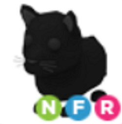 Neon Black Panther NFR Adopt Me
