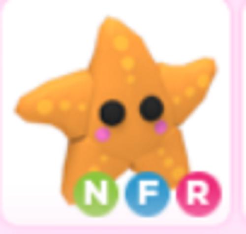 Neon Star Fish - Adopt Me