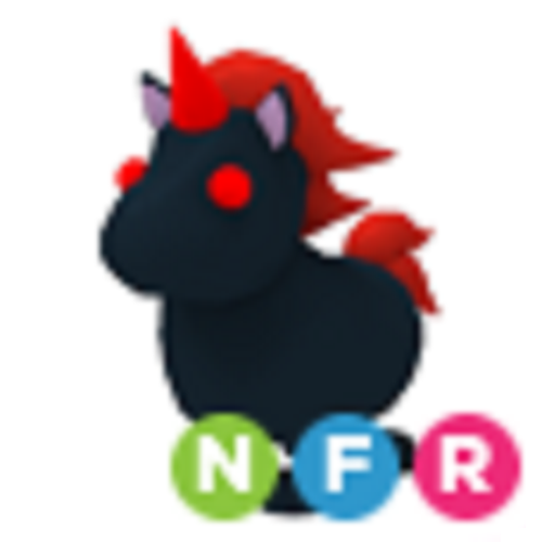 Neon Evil Unicorn NFR Adopt Me