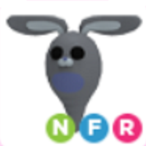 Neon Ghost Bunny NFR