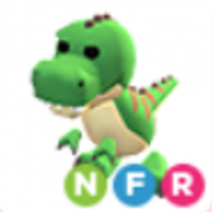 Neon T-Rex NFR Adopt Me