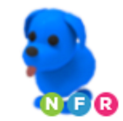 Neon Blue Dog NFR - Adopt Me