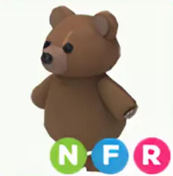 Neon Brown Bear Adopt Me