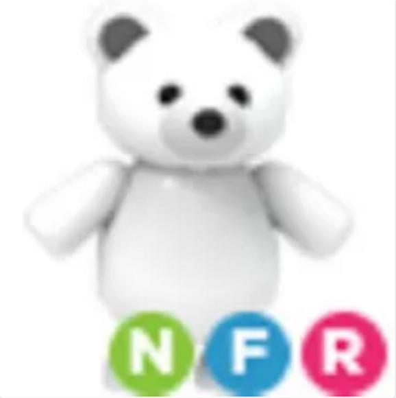 Neon Polar Bear Adopt Me