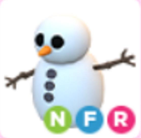 Neon Snowman NFR