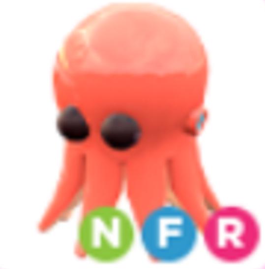 Neon Octopus NFR - Adopt Me