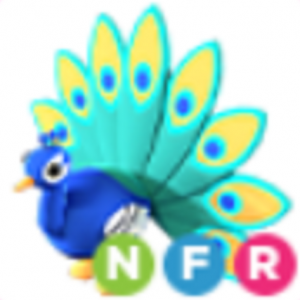 Neon Peacock NFR - Adopt Me