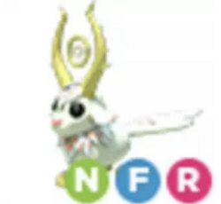 Neon Goldhorn NFR Adopt Me